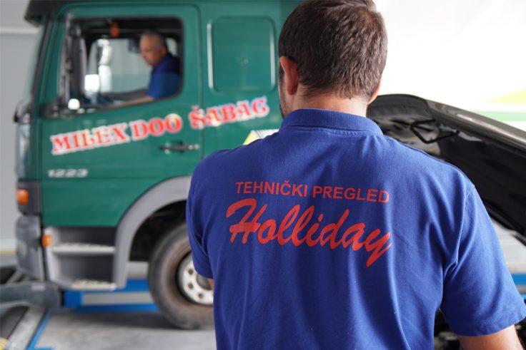 Twhnički pregled teretnih vozila - Tehnički pregled Holliday