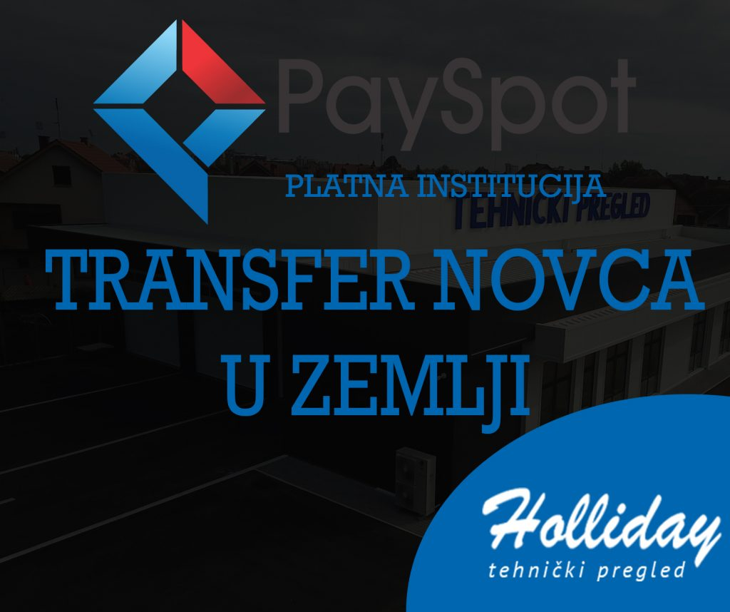 PaySpot - Platna institucija -Tehnicki pregled Holliday