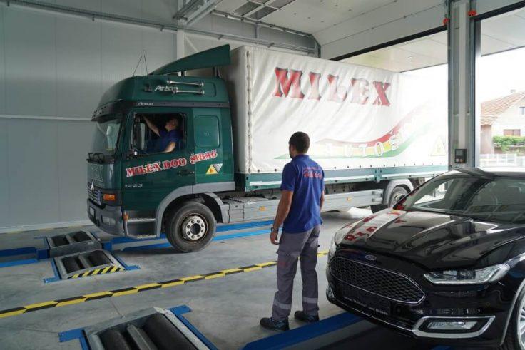 Tehnički pregled kamiona